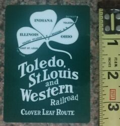 Toledo St Louis and Western Railroad Train Sticker Decal High Quality Gloss NEW $3.50