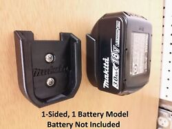 4 Pack Makita 18v Battery Wall Mount with Option Charged Not Charged Indicator