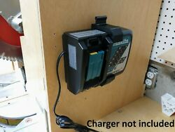 Wall Mount For Makita Dc18rc Charger With Optional 18v Battery Mounts