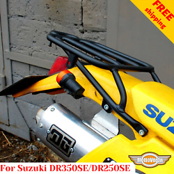 For Suzuki Dr350se Rear Rack Dr250se Rear Luggage Rack For Bags Free Shipping
