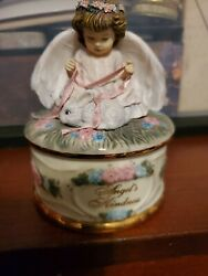 Music Box Angels Kindness By Donna Brooks Heavens Little Guardians Ardleigh Vtg