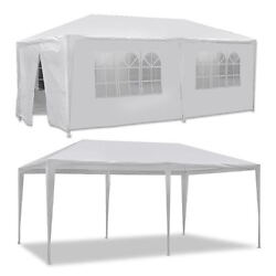 10' X 20' Canopy Party Wedding Tent Garden Bbq Tent Gazebo Outdoor With 6 Walls