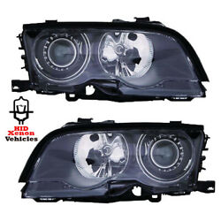 Headlight Replacement For 1999 - 2001 E46 Coupe Hid Xenon Driver Passenger Pair
