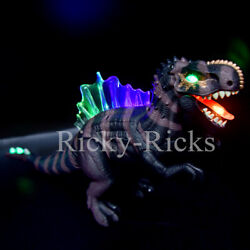 Walking Dinosaur Spinosaurus Light Up Kids Toys for Boys Sounds Dinosaurio $12.99