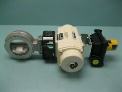 4 Fisher A41 Posi-seal Actuated Butterfly Control Valve New G19 2725