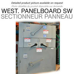 Panel Switch 800a 600v 3ph West Ul Used