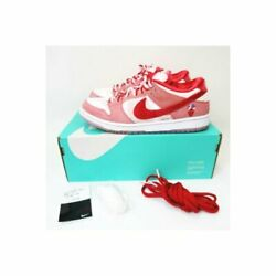 Nike Sb Dunk Low Pro Qs Strange Love Bright Pink Ct2552-800 Us9 Sneakers Shoes