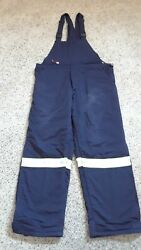 9 Oz Ultrasoft Deluxe Arctic Insulated Bib Overall With Indura Quilt Liner Xl T