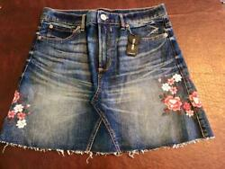 EXPRESS Jean Skirt CUTE Size 8 NWT NEW $16.99
