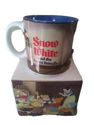 Vintage Walt Disneyand039s Snow White And The Seven Dwarfs Coffee Cup Brand New