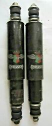 Fiat 600 600d Abarth 750 Set Of 2 Koni Classic Front Shock Absorbers Very Rare