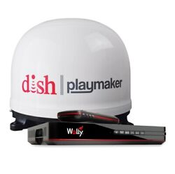 Winegard Pl7000r Dish Playmaker Portable Auto Satellite Antenna And Dish Wally New