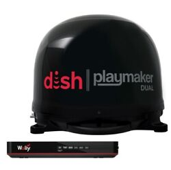 Winegard Pl8035r Dish Playmaker Dual Portable Automatic Satellite Antenna New
