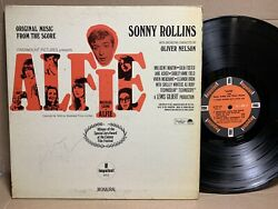 SONNY ROLLINS Alfie Original Music From The Score IMPULSE A 9111 MONO