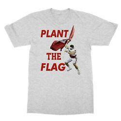 Cool Baker Mayfield Oklahoma Quarterback Plant The Flag College Men#x27;s T Shirt $9.49