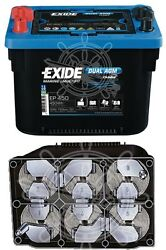 Exide Maxxima Battery With Agm Technology 50ah 95min 12v 18.6kg 260x173x205h Mm