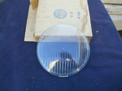 Nos Blc Driving Light Lamp Lens Clear Vintage Old Car Hot Rod Lowrider Auto