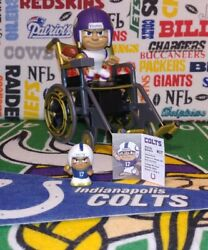 Nfl Teenymates 2020 Gold Indianapolis Colts Qb Philip Rivers Exclusive Figurine