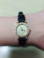 And Co. 18k Wristwatch 1990's Antique From Japan Free Shipping