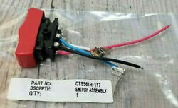 New Snap On Cts561 Switch Assembly 7.2v Cordless Screwdriver Repair Red Usa