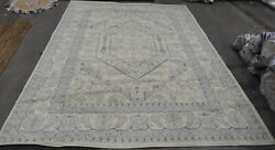 Ivory / Slate 8and039 X 10and039 Stained Rug Reduced Price 1172603305 Adr108s-8