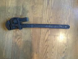 Large Antique Plumber Pipe Wrench