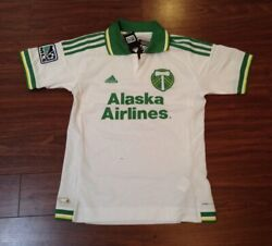 Portland Timbers Adidas Football Soccer Jersey Youth Large New With Tags