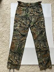 Cabela#x27;s For Kids Camo Cargo Hunting Pants Youth Boys 18 Regular Seclusion 3D $17.99