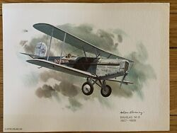 Douglas M-3 1927-1928 United Airlines 1976 Collector Print Nixon Galloway