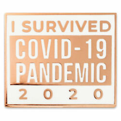 Pinmartand039s I Survived A Pandemic 2020 Enamel Lapel Pin