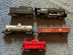 American Flyer Train Set 21160 Plus 3 Cars Updated Listing