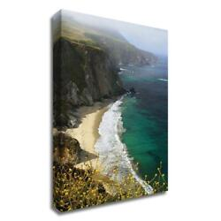 36 X 24 Big Sur Coast By Winthrope Hiers Print On Canvas