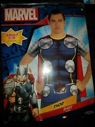 Marvel Thor t shirt costume SZ Adult S M sealed
