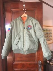 Replica Russian Airforce Bomber Puffy Jacket S