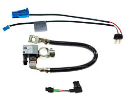 Battery Negative Cable + Intelligent Battery Sensor Ibs + Adapter Leads For Bmw