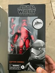 Star Wars Black Series 6quot; Captain Cardinal New IN HAND Galaxy#x27;s Edge Target $32.00