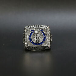 Peyton Manning Ring 2006 Indianapolis Colts Super Bowl Silver Color Ring Colts