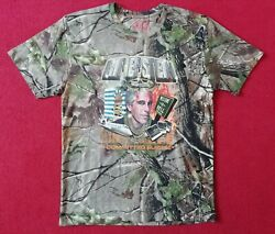 Mde R.i.p Epstein Large T-shirt Realtreeandtrade Camo Limited Edition