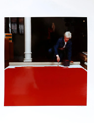 Curtis Knapp Andy Warhol Red Series 3 Color Photograph Signed And Numbered
