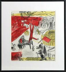 Marc Chagall Revolution Lithographie Signandeacutee En The Plaque