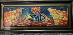 311 Foil Poster. Red Rocks 08-19-2012. Very Rare. Framed Art By Munk One.