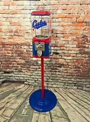 Chicago Cubs Inspired Vintage Gumball Candy Acorn Penny Machine Man Cave Gift