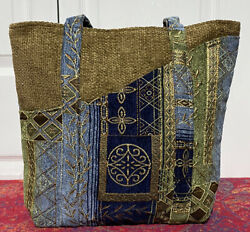 Gypsy Wings Upholstery Tote Bag Made In Texas USA