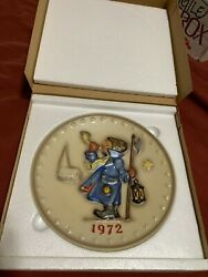 mint Condition Hummel Christmas Plates 1971-1995 Not Including 1973,1974