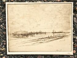 Wilson Silsby California Artist Signed Etching Xix