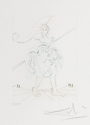 Salvador Dalandiacute Henry V From Much Ado About Shakespeare Color Drypoint Etching O