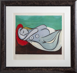 Pablo Picasso Formeuse A Land039oreiller Marie-therese Walter Lithograph On Arche