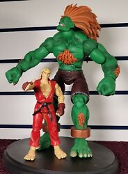One Off Sota Street Fighter Blanka Factory 2up Pre Production Sample 12 Inches