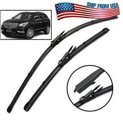 2421 Front Windshield Wiper Blades For Buick Enclave Mk1 Lucerne Rubber Refill
