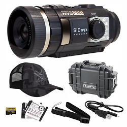 Sionyx Aurora Pro Digital Night Vision Camera With Hard Case And Hat Bundle